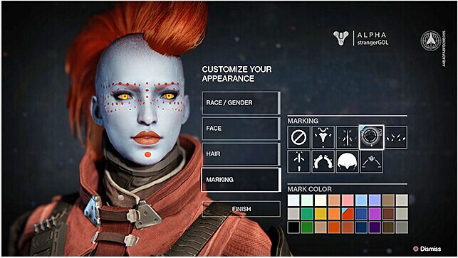 Destiny Guide: Create a Character in Game