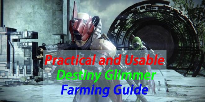 Destiny Glimmer Easy Cash Farming Guide